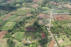 Vogelperspektive von Costa Rica Lizenzfreie Stockfotografie