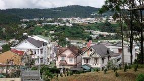 Vogelperspektive von Dalat, Vietnam lizenzfreies stockbild