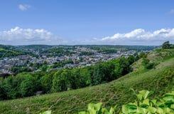 Vogelperspektive von Dover vertreten von der Schlosswand Lizenzfreies Stockbild
