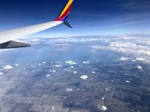 Vogelperspektive von Florida stockfoto