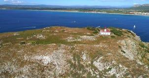 Vogelperspektive von Heilig-Inseln stock video