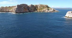 Vogelperspektive von Heilig-Inseln stock video footage