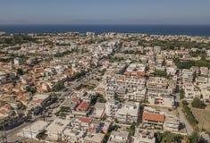 Vogelperspektive von Ialysos Lizenzfreies Stockfoto