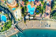 Vogelperspektive von Icmeler, die Türkei stockfotos