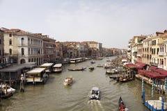 Vogelperspektive von Kanal-großem großartigem Stockfotografie