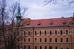 Vogelperspektive von Krakau Polen Stockbilder