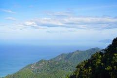 Vogelperspektive von Langkawi-Insel Lizenzfreies Stockfoto