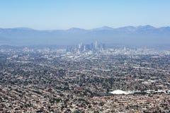 Vogelperspektive von Los Angeles in den Vereinigten Staaten Stockfoto