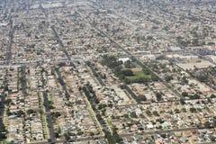 Vogelperspektive von Los Angeles in den Vereinigten Staaten Lizenzfreie Stockfotos