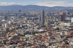 Vogelperspektive von Mexiko- Citymitte Stockfoto