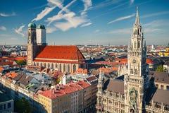Vogelperspektive von Munchen Lizenzfreie Stockfotografie