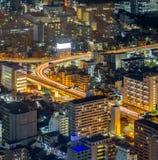 Vogelperspektive von Nagoya Lizenzfreie Stockfotos