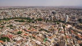 Vogelperspektive von Nikosia, südliches Teil Stockfoto