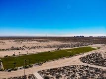 Vogelperspektive von Puerto Penasco Rocky Point From Cholla Bay lizenzfreie stockfotografie