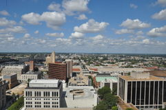 Vogelperspektive von Richmond, Virginia Stockfoto