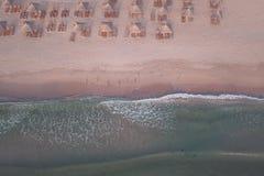 Vogelperspektive von Schwarzem Meer Stockfotografie