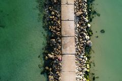 Vogelperspektive von Schwarzem Meer Stockbilder
