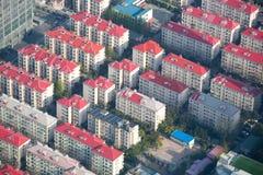 Vogelperspektive von Shanghai Stockbilder