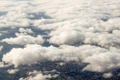 Vogelperspektive von Sydney, Australien, genommen vom Flugzeug Stockbilder