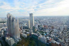 Vogelperspektive von Tokyo Lizenzfreies Stockfoto
