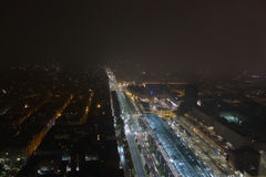 Vogelperspektive von Turin Stockfotografie