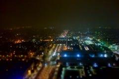 Vogelperspektive von Turin Stockfotos