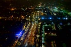 Vogelperspektive von Turin Stockbild