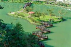 Vogelperspektive von wanglongbi in Yilan, Taiwan stockbilder