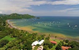 Vogelperspektive von West-Costa Rica Lizenzfreies Stockfoto