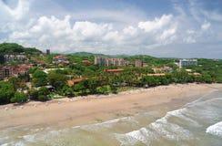Vogelperspektive von West-Costa Rica Lizenzfreies Stockbild