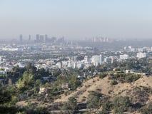 Vogelperspektive von westwood im Stadtzentrum gelegenem Stadtbild stockfotos