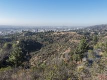 Vogelperspektive von westwood im Stadtzentrum gelegenem Stadtbild stockfoto