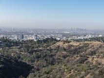 Vogelperspektive von westwood im Stadtzentrum gelegenem Stadtbild lizenzfreies stockbild