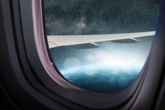 Vogelperspektiveraumerde Stockbild