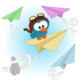 Vogelpilot Lizenzfreies Stockbild