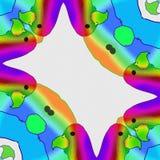 Vogels de kleuren van vogels Gelukkig beeldverhaal vector illustratie