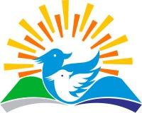 Vogels helder onderwijs vector illustratie