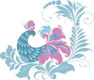 Vogels op de boom Royalty-vrije Stock Afbeelding