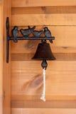 Vogels op de deurbel Royalty-vrije Stock Fotografie