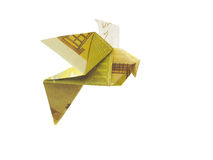 Vogels van 200 euro bankbiljetten Stock Afbeeldingen