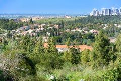 Vogelschau des Westjordanlands Lizenzfreie Stockfotos