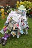 Vogelscheuche am britischen Vogelscheuchen-Festival Lizenzfreie Stockfotos