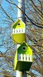Vogelshuis Royalty-vrije Stock Foto