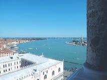 Vogelsoog mening-Venetië, Italië Stock Foto