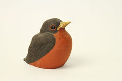Vogelstandbeeld Royalty-vrije Stock Fotografie
