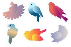Vogelsteigung Vektor Abbildung