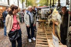 Vogeltjesmarkt Lizenzfreie Stockbilder