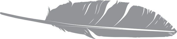 Vogelveersilhouet Royalty-vrije Stock Foto's