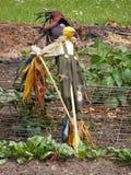 Vogelverschrikker! Royalty-vrije Stock Foto