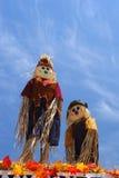 Vogelverschrikkers in de Hemel Royalty-vrije Stock Fotografie